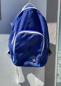 Unisex Blue Converse Backpack (Good Condition)