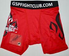 AUTOGRAPHED DPISPORTS GEORGES ST PIERRE UFC SHORTS
