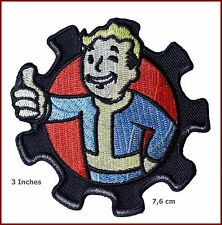 FALLOUT Pip Boy Morale Military 3 Inch Diameter Embroidered Logo PATCH