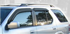 Auto Vent Shade 94915 4 pc Smoke Deflector Ventvisor for Passport and Rodeo