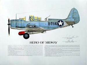 George Gay, Torpedo Squadron 8 at Midway, Aviation Art, Ernie Boyette