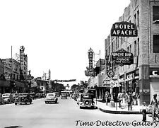 Downtown Las Vegas, Nevada - 1940 - Vintage Photo Print