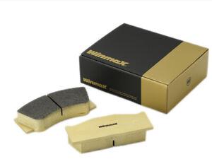 Winmax W6.5 Race Rear Brake Pad Set WMP1148-W6.5 fits Lancia Beta 1600 Coupe ...