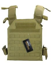 Spartan Plate Carrier - Coyote Lightweight Plate Carrier with MOLLE Platform