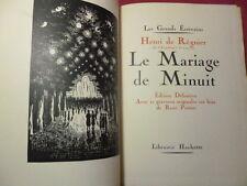 LE MARIAGE DE MINUIT H. de Régnier édition définitive 21 gravures sur bois