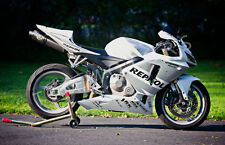 For CBR600RR 05 06 Silver White REPSOL ABS Injection Mold Bodywork Fairing Kit