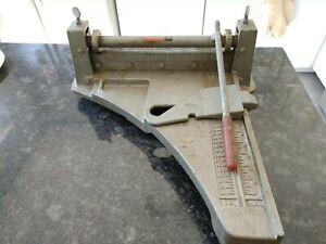 Beno J. Gundlach Company H-76-6 Tile Cutter