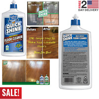 Quick Shine Multi-Surface Floor Cleaner 27oz Hardwood Laminate Tile Vinyl Stone