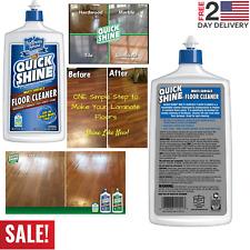 Quick Shine Multi-Surface Floor Cleaner 27oz Hardwood Laminate Tile Vinyl Stone