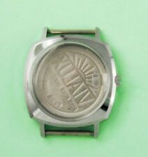New Vialux Swiss Watch Case Stainless Steel Water Resistant Inoxydable #C0103#