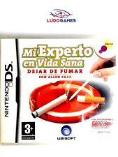 Mi Experto en Vida Sana Deja de Fumar Nintendo DS PAL/SPA Precintado Videojuego