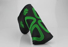 Clover Shamrock Golf Blade Putter Cover Headcover Fr Scotty Cameron Odyssey Ping