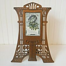 Antique Arts and Crafts fretwork photo frame Secessionist Jugendstil Art Nouveau