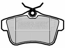 Borg BBP2095 Set de Pastillas de Freno Freno de Disco Trasero