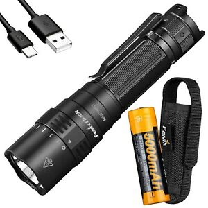 Fenix PD40R v2.0 v2 3000 Lumen USB-C Rechargeable Flashlight w/ 5000mAh Battery