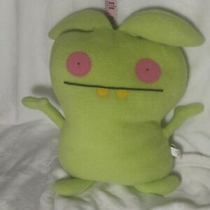 "Uglydoll MIJ 12"" Plush Green Toy Monster Pretty Ugly 2010 A"