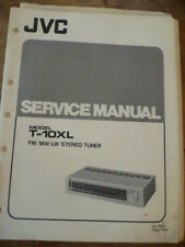 JVC T-10XL Stereo Tuner Service Manual