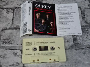QUEEN - Greatest Hits (UK) / Cassette Tape Album / 1763
