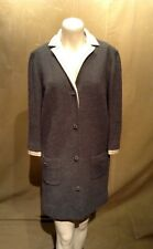 Womens Vintage Butte Knit Wool Coat Sz M