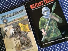 TACTICS OF CRESCENT MOON & MILITANT TRICKS Islamic Insugent 2 Book Set POOLE