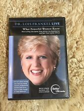 Dr. Lois Frankel Live - What Powerful Women Know (DVD & CD)VERY GOOD- NEW CASE