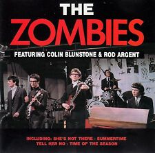 THE ZOMBIES featuring COLIN BLUNSTONE & ROD ARGENT: same/CD-COMME NEUF