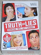 Nintendo Wii - Truth or Lies (Game & Microphone) NEW