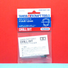 Tamiya #74087 Drill Bit (1.2mm) [Craft Tools]