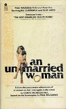 An Unmarried Woman by Carol Dechellis Hill,-pb 1968-BUY ANY 4 FOR FREE SHIPPING