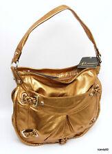 Nwt $258 B Makowsky *CLAREMONT* Hobo Shoulder Bag Handbag Tote ~Dark Gold