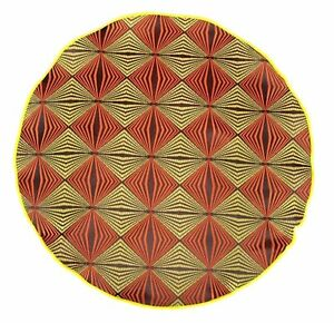 Lord R Colton Masterworks Pocket Round Levanzo Bark & Lime Silk - $75 Retail New