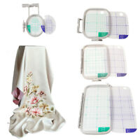 Premium 4-Piece Embroidery Hoop Set for Brother PE780 PE770 PE700 Placement Tool