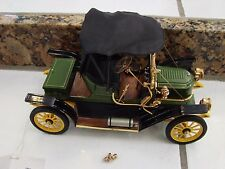 DIECAST1:16 SCALE 1911 GREEN STANLEY STEAMER,  FRANKLIN MINT Limited Edition
