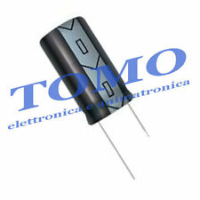 Condensatore elettrolitico 100uF 35V 105° 5 pezzi CE-100UF-35-1