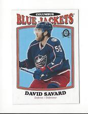 2016-17 O-Pee-Chee Retro #400 David Savard Blue Jackets