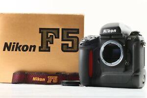 [UNUSED in BOX S/N 302xxxx w/ MF-28 ] Nikon F5 SLR 35mm Film Camera Body JAPAN
