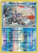 White Kyurem 21/124 XY Fates Collide REVERSE HOLO MINT! Pokemon