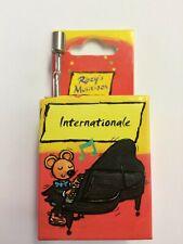 Kurbelspieldose Musik-Box-Spieluhr Melodie Internationale 1 Stück Fridolin 59005