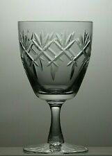 """ROYAL DOULTON CRYSTAL """"PRINCE CHARLES"""" CUT WATER GOBLET/GLASS - 5 3/4"""" TALL"""