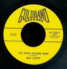 45bs-Louisiana Rockabilly-GOLDBAND 1222-Ray Scott