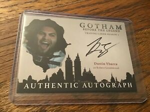 2017 Cryptozoic Gotham BTL Season 2 auto Dustin Ybarra as Robert Greenwood