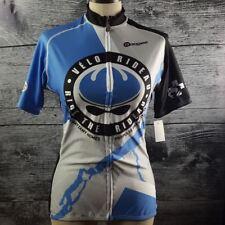 Apogee Woman Fit Cycling Biking Jersey Shirt Sz XL Made in Canada