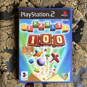 PLAYSTATION 2 gioco Italiano DYNAMITE 100 Usato