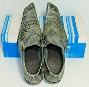 Men's Zota Unique Genuine Leather Upper Modern Formal Dress Shoes Fancy Size 10