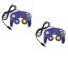 2 X Manette pour Nintendo Wii, Wii U et Gamecube - Violet