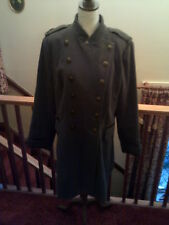 Women's Coat, Green Military Style Coat, Lined, Excellent Unworn Coat