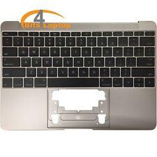 """Topcase reposamuñecas & EE. UU. Teclado para Apple MacBook 12"""" A1534 661-04881 Gris 2015"""