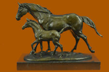 Bronze Large Size Foal Colt Horse Statue Baby Animal Outdoor Sculpture Figurine