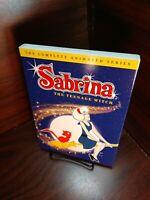 Sabrina Animated Series (DVD Boxset) Slipcover-NEW-Free SHIPPING with Tracking
