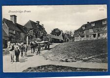 More details for groombridge green horse & cart pc used 1908 valentines ref  v195